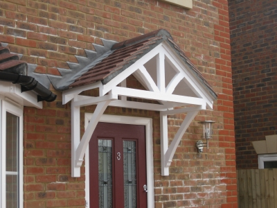 The Ripley Over Door Canopy - Master Plastics (SW) Ltd